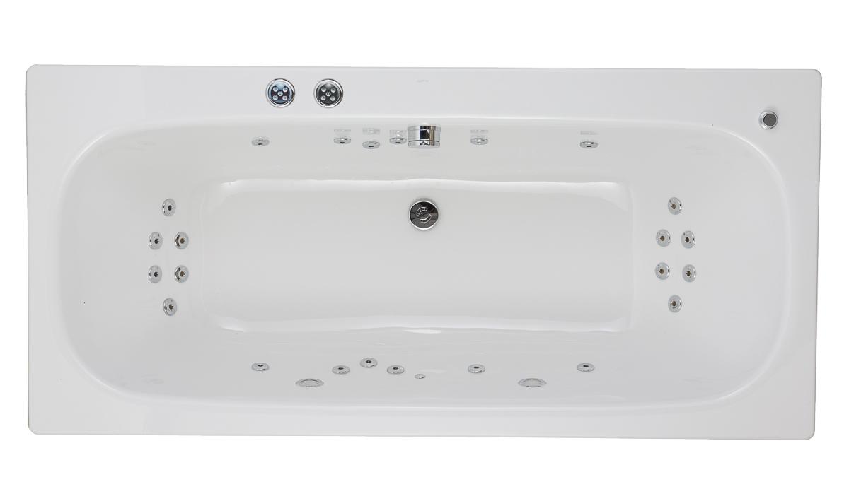 Pegasus Whirlpool, BETTE Duett Bath - 360° spin