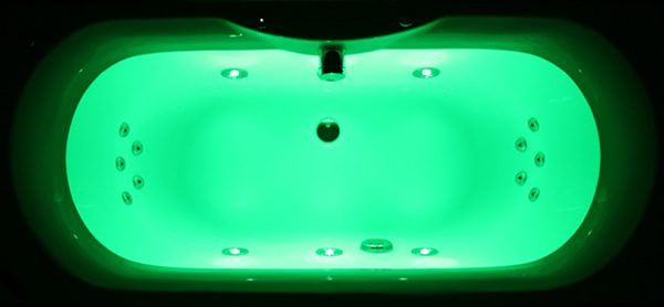 Pegasus Chromotherapy Whirlpool Bath