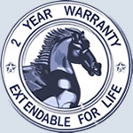 2 Year extendable warranty