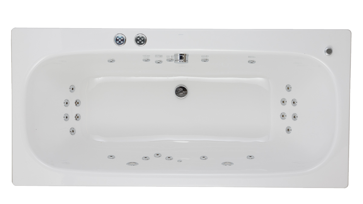 BETTE Duett Whirlpool Bath | Bette Steel Bath | 360 Degree Spin ...