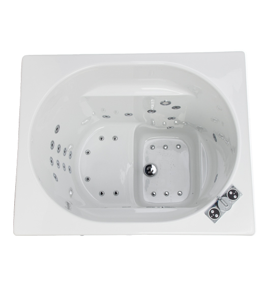 rona whirlpool bath   deep soaking bath   360 degree spin   4th