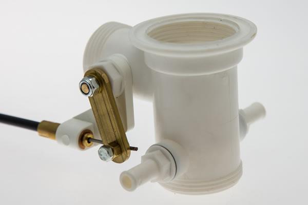 Whirlpool Bath Overflow Dual Drain Waste Standard