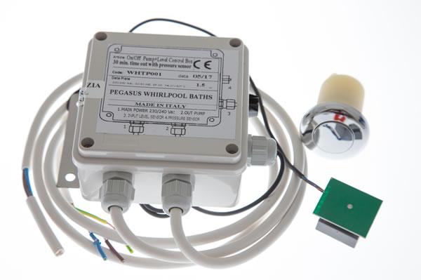 Whirlpool Bath Pump Control Box Pneumatic Control