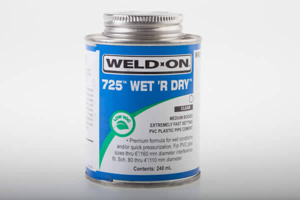 Whirlpool Bath Pvc Clear Cement Weld On Wet R Dry